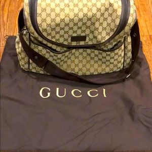 Gucci authentic diaper bag